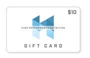 High Performance Nutrition Gift Card