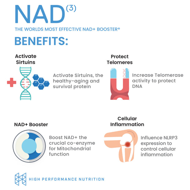 Cell Restoration Bundle | NAD3 + Sirtuins