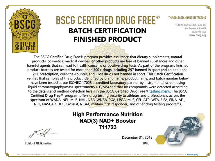 NAD3® 120 • An All Natural NAD+ Booster™ (2 Month Supply)