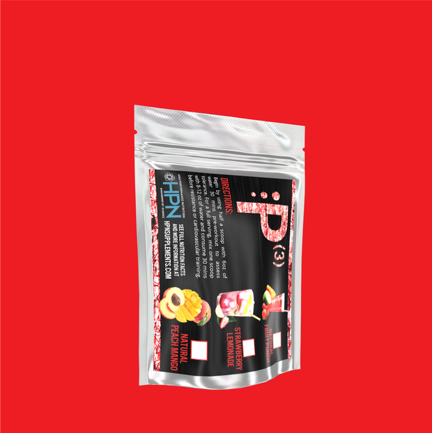 P(3) Single Serving Pre Workout - 2 Packets