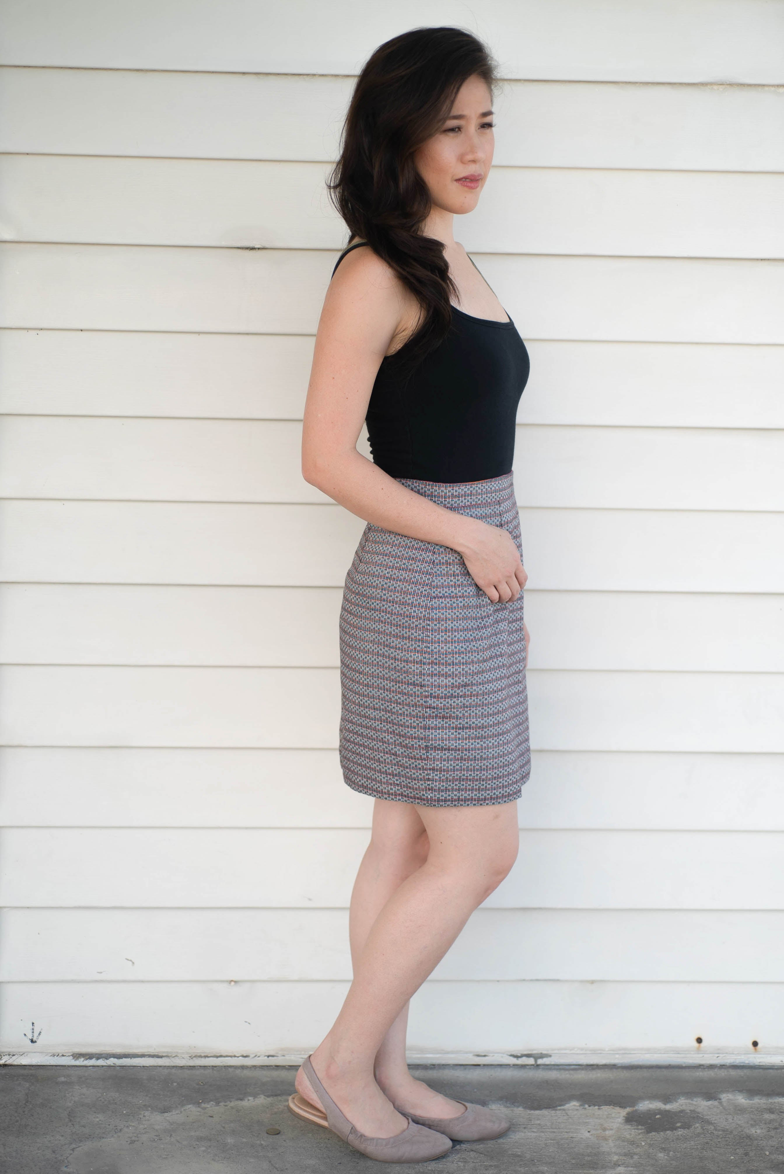 Aguila Reversible Skirt