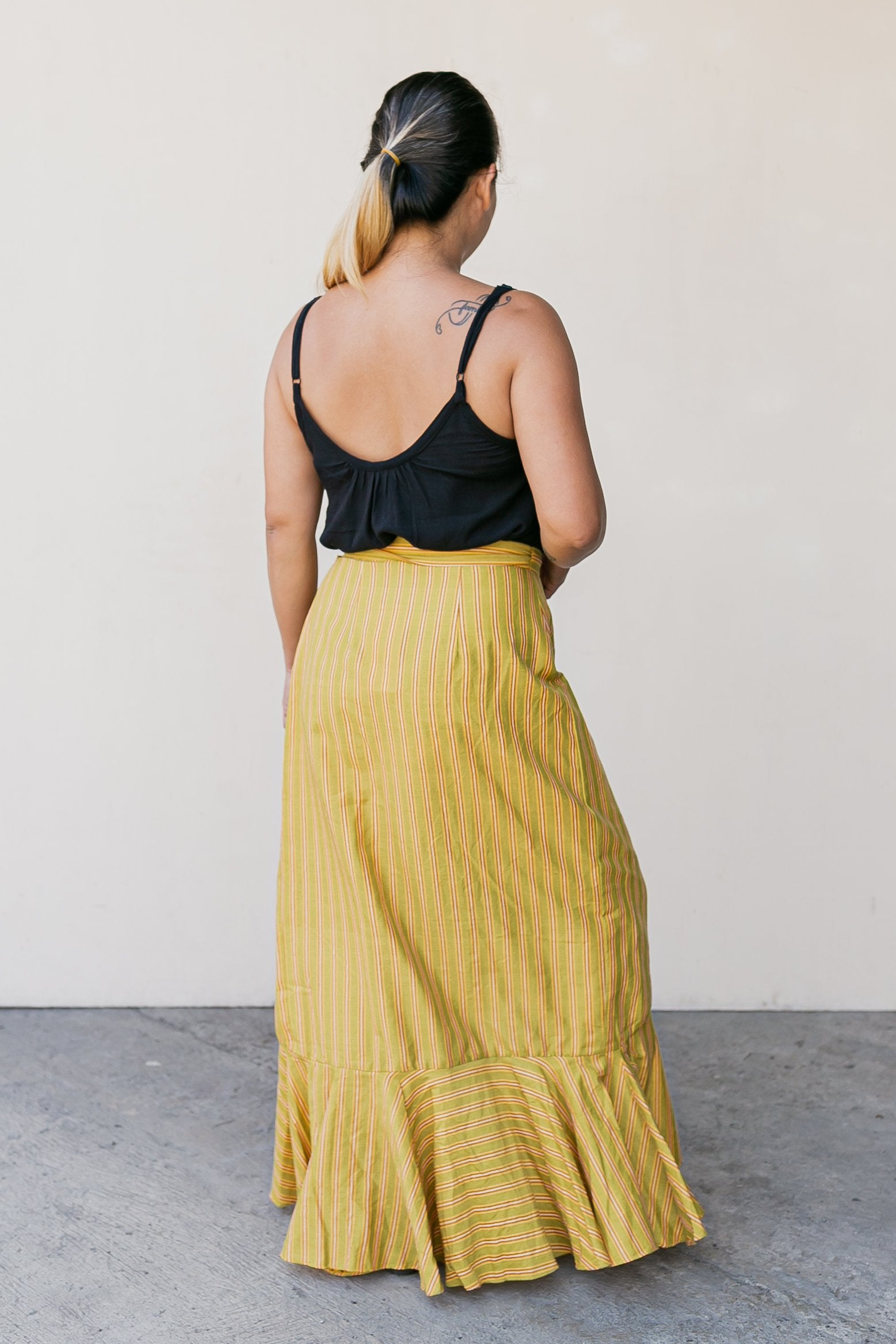 Esmeralda Maxi Skirt Yellow - Medium
