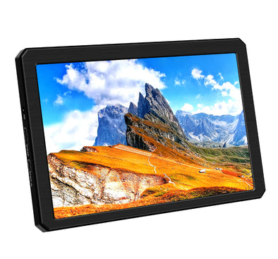 7 inch 1280 x 800 IPS Portable Monitor with Hdmi Input,USB Powered,Outdoor readable,Bulit in Speakers,CNC Shell with Stand(C007-2)