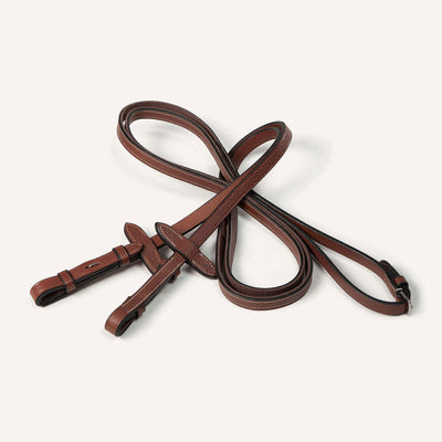 Half-rubber hunter reins 13mm