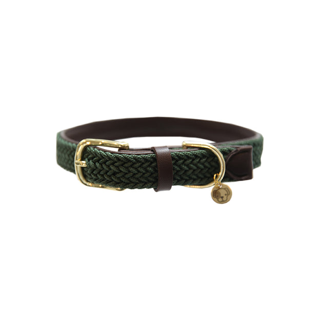 Plaited Nylon Dog Collar