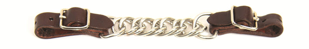 WALSH Curb Chain with Leather ends