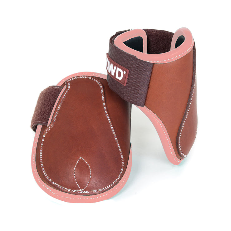 CWD MADEMOISELLE VELCRO OPEN FETLOCK BOOTS WITH CALFSKIN LINING