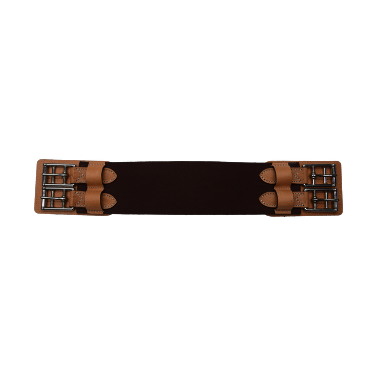Elastic dressage girth