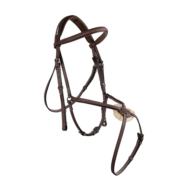 Raised figure 8 noseband bridle