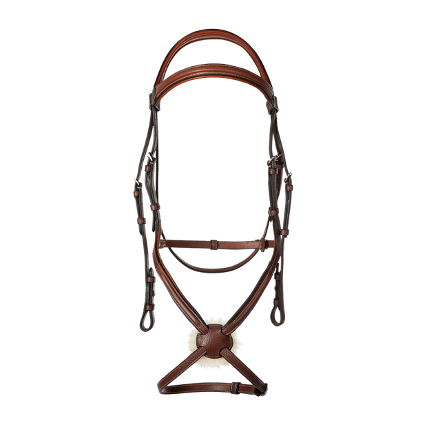 Raised Figure 8 Sports Noseband Bridle