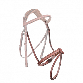 Raised french noseband