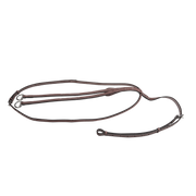 Raised running martingale with fancy stitching