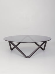 Corona coffee table, black