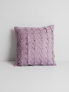 Pilea cushion cover, lavender