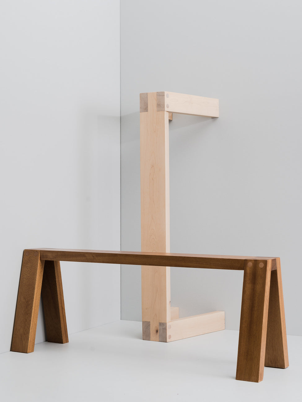 Otso bench, birch