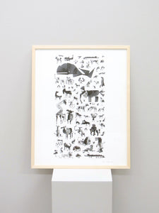 Animal Encounters print
