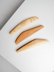 Vellamo butter knife, oak