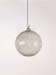 Glass Ornaments, Grey