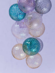 Glass Ornaments, Lavender