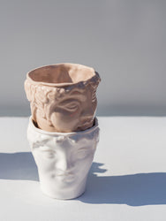 Ceramic heads, Youth Nude