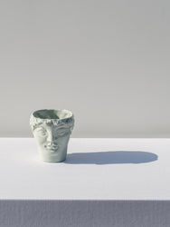 Ceramic heads, Youth Misty green