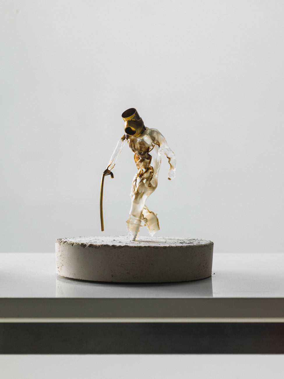 Movement sculptures - Old guy