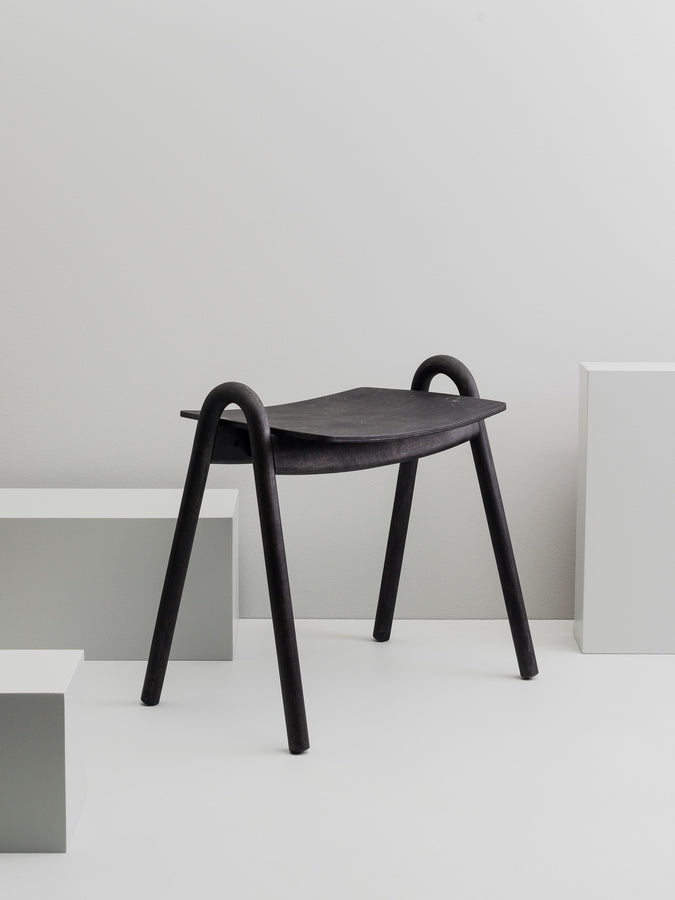 Kanto stool, black