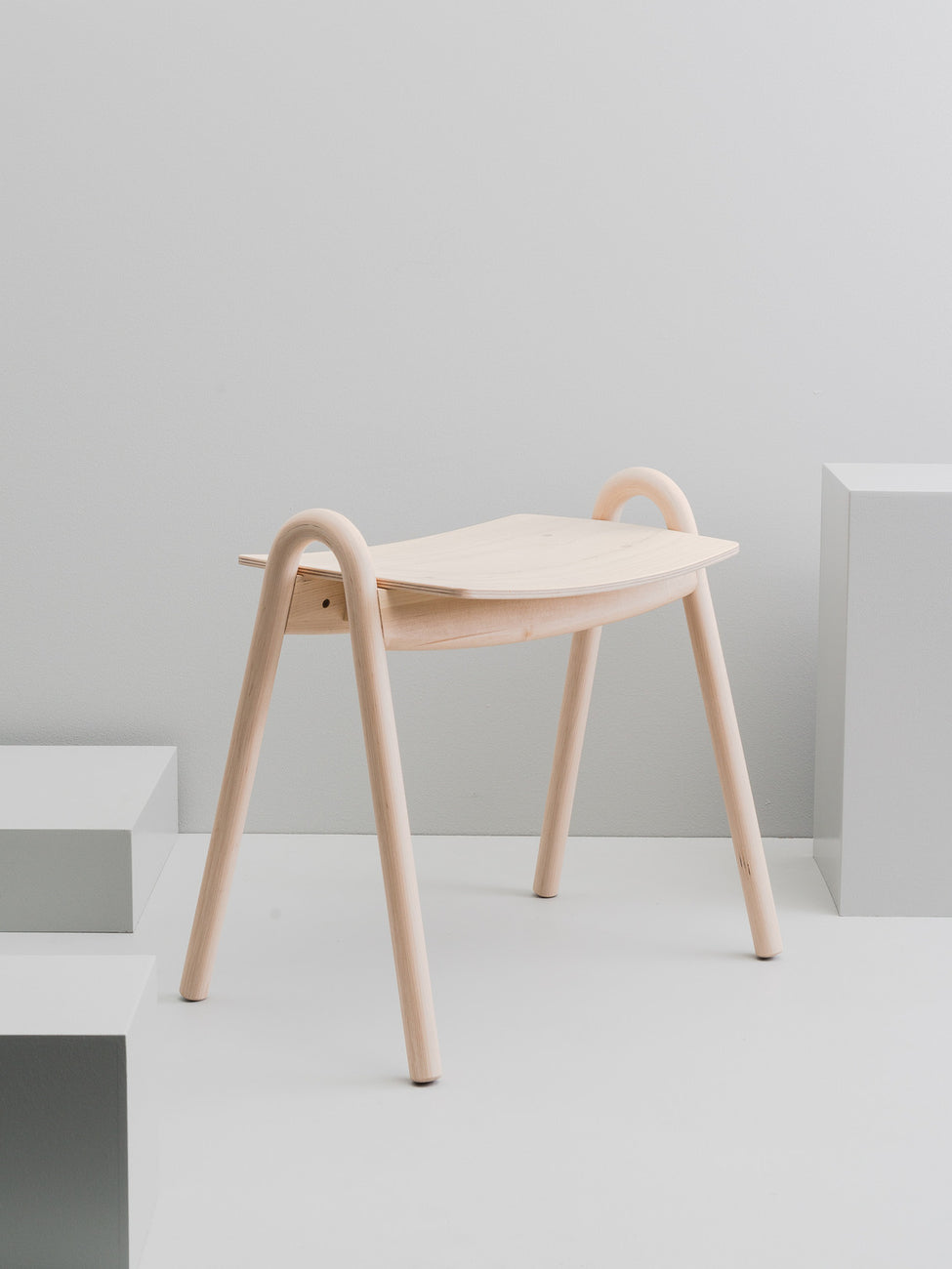Kanto stool, birch