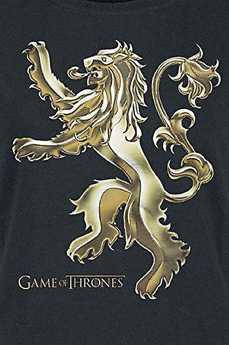 GAME OF THRONES Fitted Chrome Lannister Sigil T-Shirt