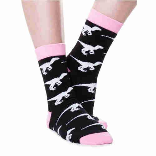 Black Dino Socks