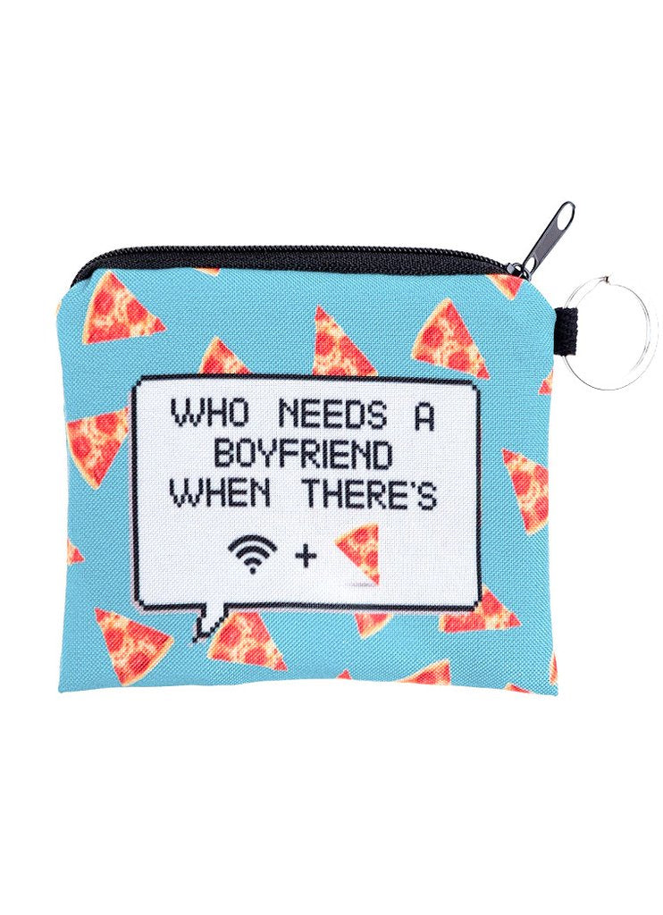 Wifi & Pizza Coin Purse
