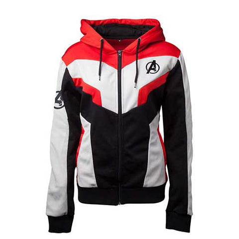 Deadpool Men's Sublimation Full Length Zipper Hoodie