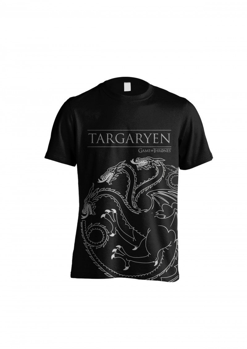 Game of Thrones – Targaryen Outline T-Shirt