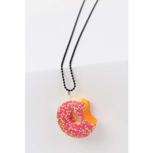 INNOCENT DONUT NECKLACE RED