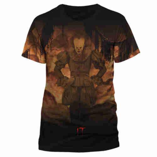 IT Pennywise Flames Sublimated