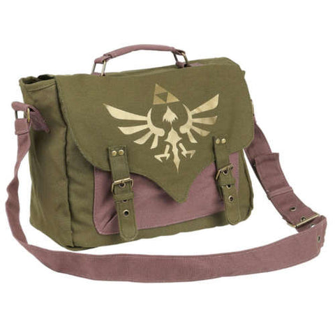 ASSASSIN'S CREED Red Core Crest Emblem Logo Messenger Bag, Multi-colour (MB070306ASC)