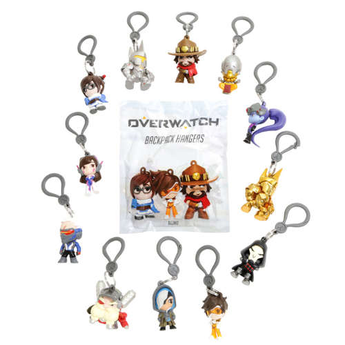 Overwatch - Backpack Hangers Mini Figure