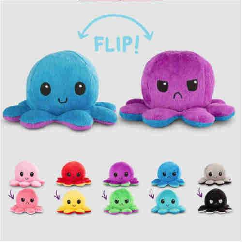 pre order Reversible Octopus Plush