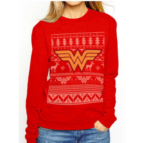 Wonder Woman - Fair Isle Logo