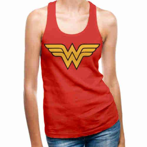 Wonder Woman Vest - Logo
