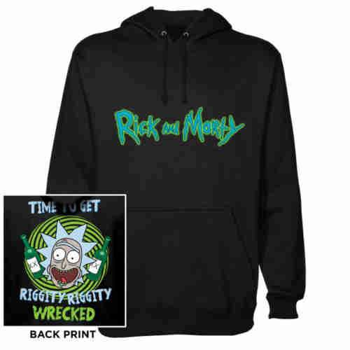 Rick And Morty - Riggity Riggity - Hoodie