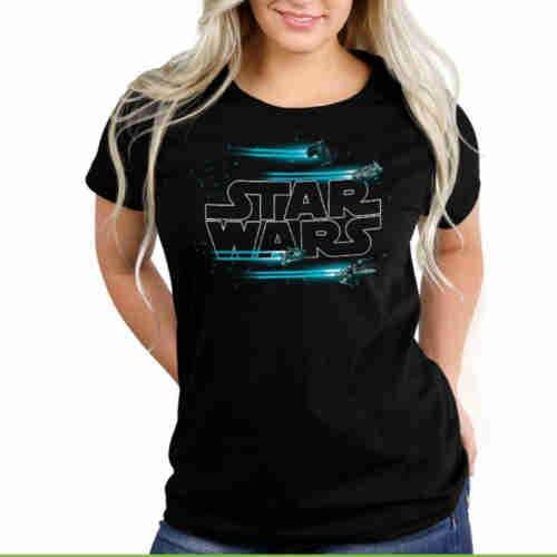 Jump To Hyperspace Fitted Tshirt