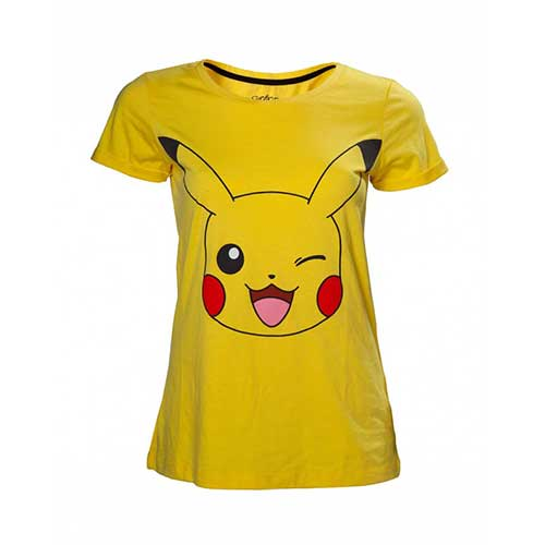 Blinking Pickachu Fitted Tee