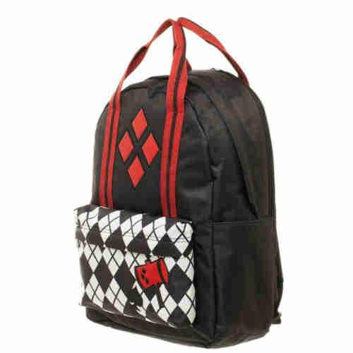 Harley Quinn Pocket Print Backpack