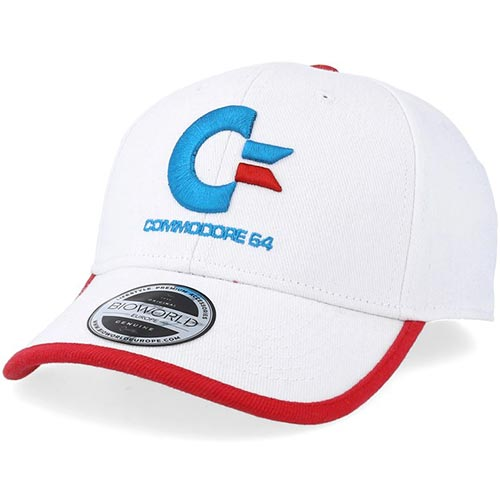 COMMODORE 64 Logo Curved Bill Cap
