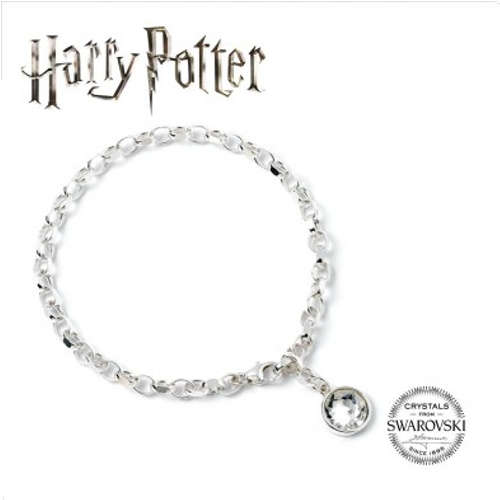 HARRY POTTER CHARM BRACELET EMBELLISHED WITH SWAROVSKI® CRYSTALS TAG