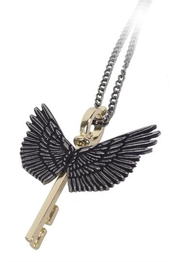 Harry Potter Pendant & Necklace Winged Key