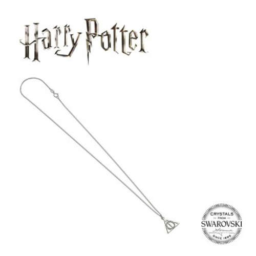 HARRY POTTER EMBELLISHED WITH SWAROVSKI® CRYSTALS DEATHLY HALLOWS NECKLACE