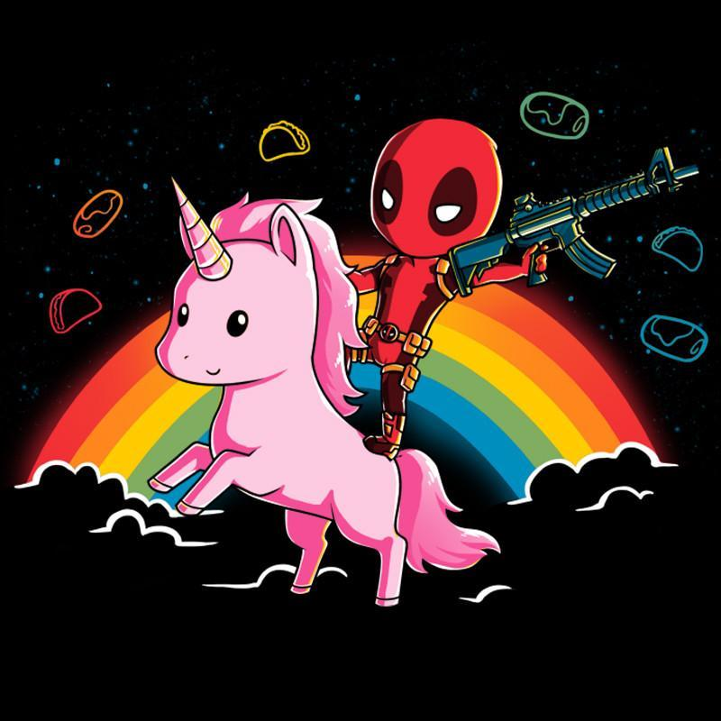 Epic Deadpool Fitted Tshirt