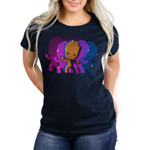 Dancing Groot Fitted Tshirt
